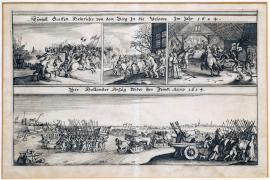 107-The invasion of the Count Henry I of Berg into Velawe in 1624. The Dutch campaign against the enemy in 1624.