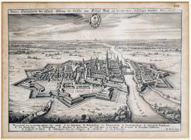 113-A true depiction of the town of Elbing, which was fortified by His Royal Majesty of Sweden, etc. in 1626.