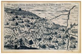 193-Al illustration of the brutal clash which took place on Old Mountain near Nuremberg between the royal Swedish and the Friedland and Bavarian armies on the 24th of August 1632.
