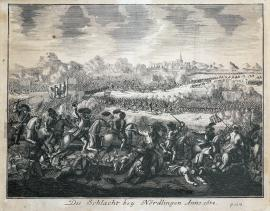 236-The battle of Nördlingen in the year 1634.