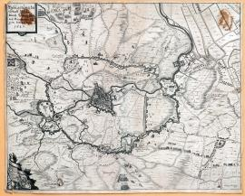 254-The siege of the town of Bredy by the Duke Frederick Henry of Orange on 23 July 1637.