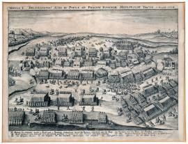 25-Picture I: Muster of soldiers and the battle that took place close to Prague, the Czech capital, on 7 November 1620.