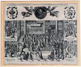 2-A special picture of the coronation of His Majesty, the Czech king Ferdinand II, in Prague on 21 June 1617.