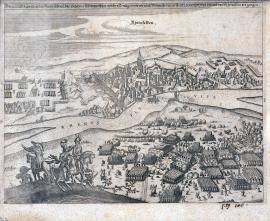 555-The fierce fight of the Imperial, Electorate-Bavarian and Weimar armies on Sunday 28 / 18 as well as Wednesday 21 of this and 3 March of the year 1638 in and near Rheinfelden.