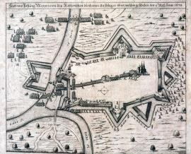 556-The town and fortress of Meppen is being conquered by an unexpected strike of the Imperial forces, on 1 / 11 May 1638.