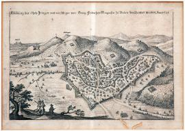 59-A picture of Inhringen enclosed with George Frederick margrave Badensky's chances in 1621.