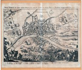 61-A true picture of the fortified town of Montauban besieged by the French Majesty in 1621.