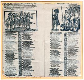 88-Military report of the Dutch king, Duke of Brunswick and Count Mansfeld, concerning their heroic advances, especially the large defeat of Count Tilly by Duke of Brunswick, in which Tilly lost 4 000 men and was personally captured by Brunswick. Sung on the tune of Haue at the spaniard.