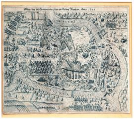 97-The siege and conquest of the town and fortress of Mannheim in 1622.